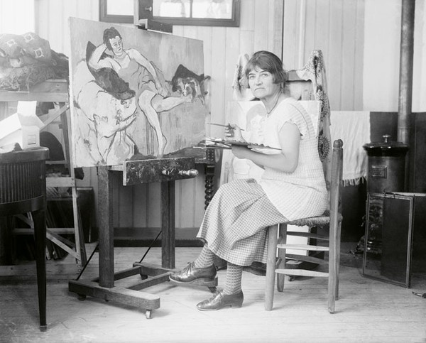 Suzanne Valadone at work