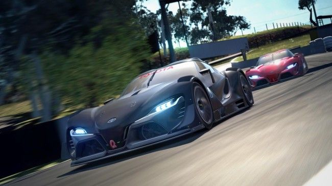 Toyota FT-1 Vision GT Concept On Gran Turismo 6 Playstation 4