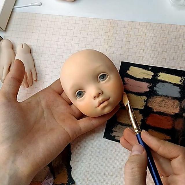А вот и долгожданный финиш пастелью... уже сшиты детальки тела и лапок для…
