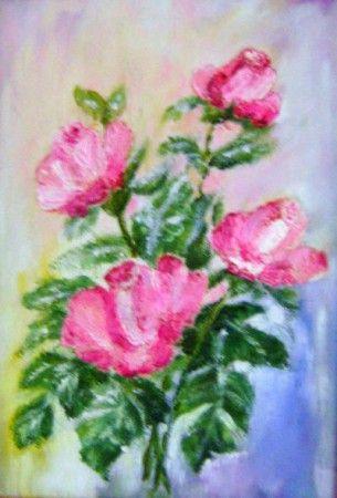 Z ogrodu. Róże.