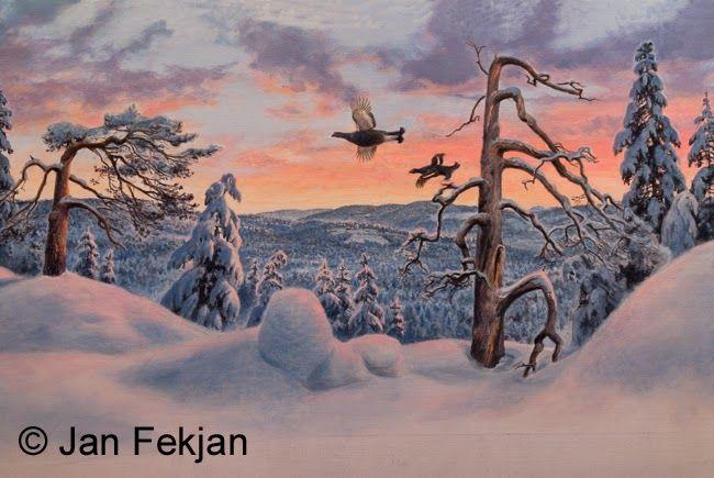 Jan Fekjan: Vintermorgen 2