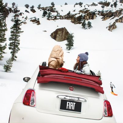 FIAT 500 Winter Driving