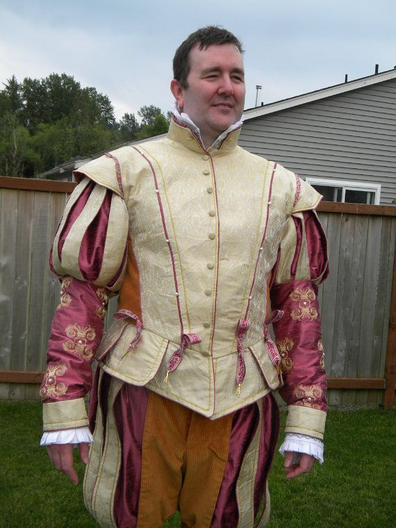 Men's doublet Renaissance Faire costume  Hey, I found this really awesome Etsy listing at https://www.etsy.com/listing/215432499/mens-renaissance-tudor-elizabethan