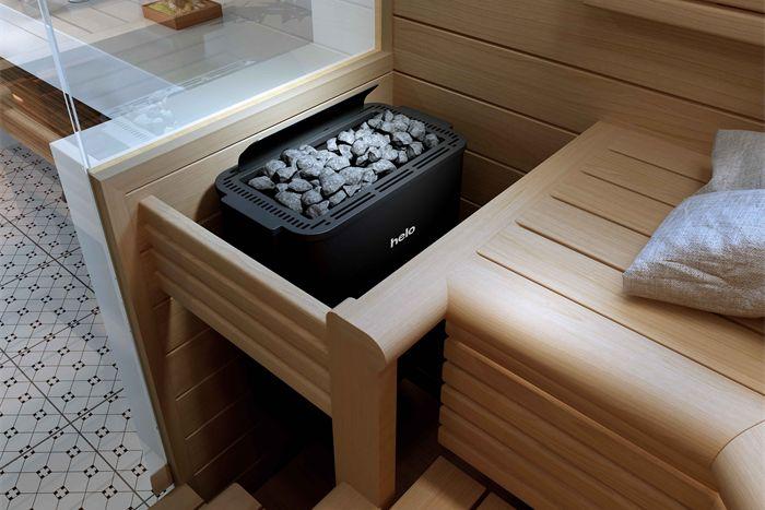 Helo Havanna STS tarjoaa oikean tehoisen kiukaan 3-13 m3 -kokoisiin saunoihin.