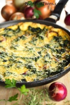 Spinach and Mushroom Bake Recipe: Side Dish Recipes on WebMD