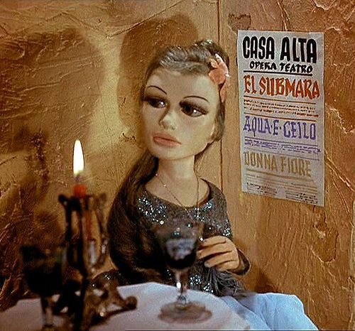 Aqua Marina - yes, she was my first love. Always loved mute women, especially wooden ones.