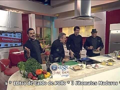 """Invitado al programa """"Cocina Prâctica, así de fácil"""" (1/2)  de Televisa Guadalajara (Canal 144  de SKY a Nivel Nacional)  Al aire: 7/marzo/2013  www.chefmanuelsalcido.com"""