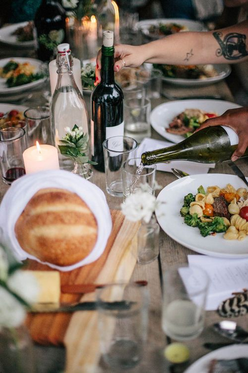 Food + Friends = best evenings
