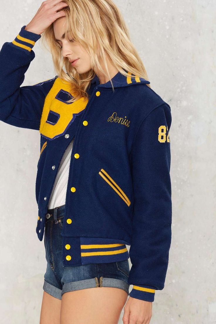 Vintage Denise Varsity Jacket | Shop Product at Nasty Gal!