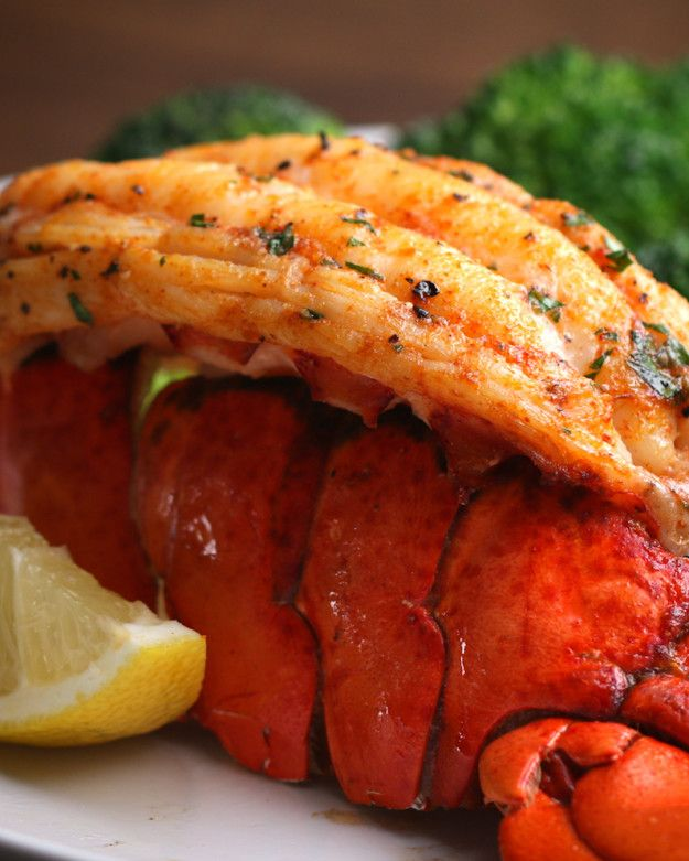 Baked Lobster Tails | Lobster Dinner For Two