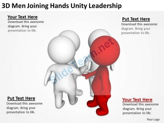 3D Men Joining Hands Unity Leadership  Ppt Graphics Icons Powerpoint #Powerpoint #Templates #Infographics