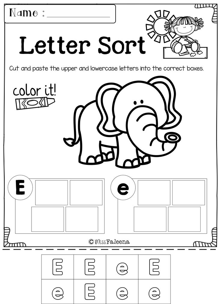 Best 25+ Free printable kindergarten worksheets ideas on