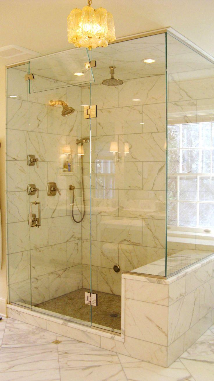 The 72 best Frameless Shower Enclosures images on Pinterest | Glass ...