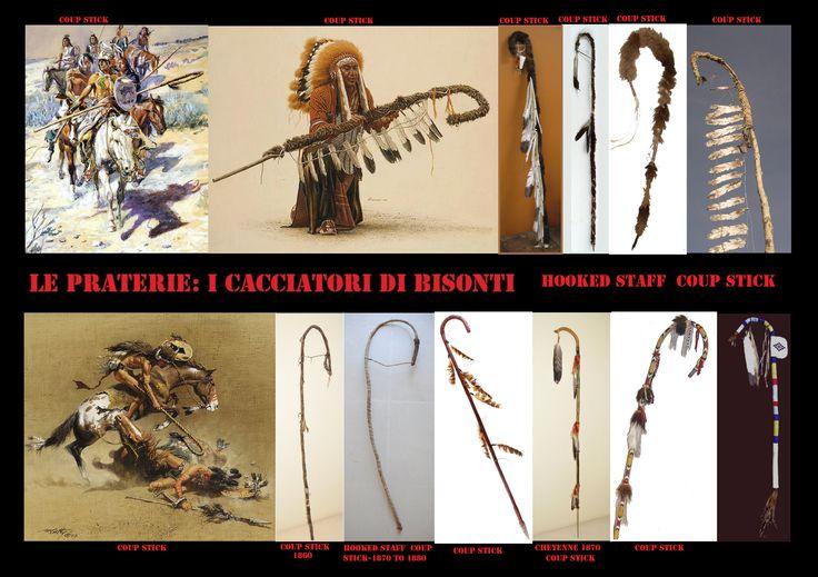 Alcune associazioni guerriere avevano delle lance a forma di pastorale tra le loro insegne. Benché non fossero delle vere e proprie armi, venivano a volte usate in battaglia per contare i colpi.