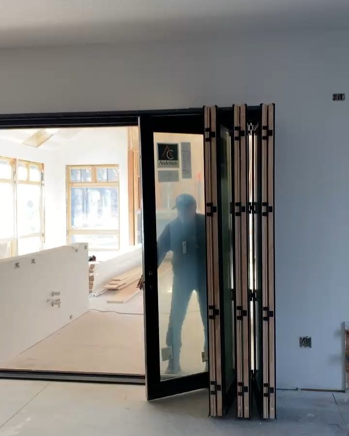 Andersen Folding Doors In Action. 🎥 Mick DePhillips