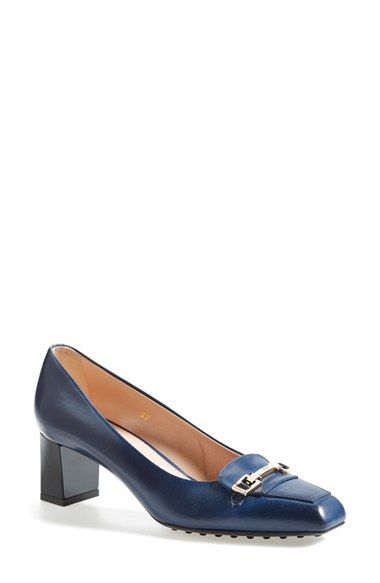 Tod's Leather Pump (Women) available at #Nordstrom