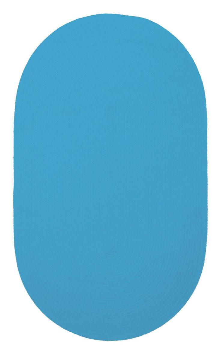 Yonkers Blue Solid Rug