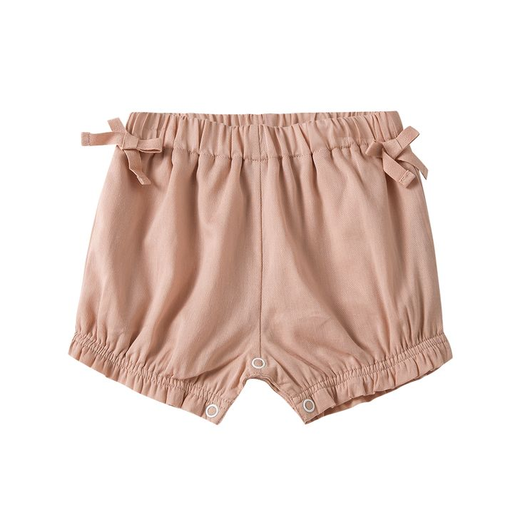 Pink Cotton Shorts / The Happyology Artist Collection