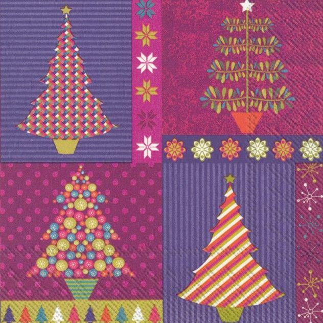 CASE of Glange u0026 Glitter Purple Lunch Napkins - Christmas - Bulk Discount PlatesAndNapkins.com  sc 1 st  Pinterest & 64 best Christmas Paper Plates and Paper Napkins images on Pinterest ...