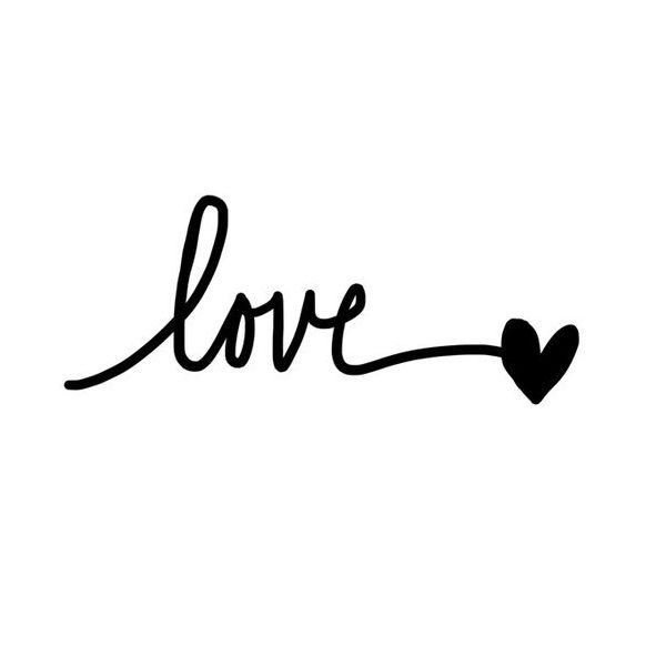 Just love quote - www.instawall.nl