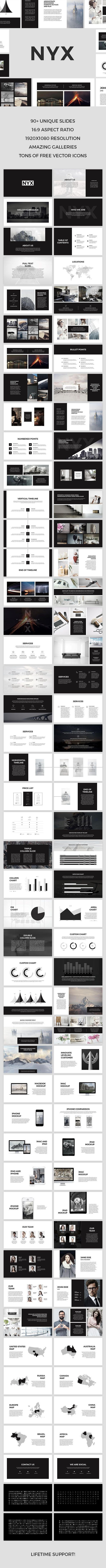 Nyx Keynote Template — Keynote KEY #best keynote templates #business • Download ➝ https://graphicriver.net/item/nyx-keynote-template/18918442?ref=pxcr