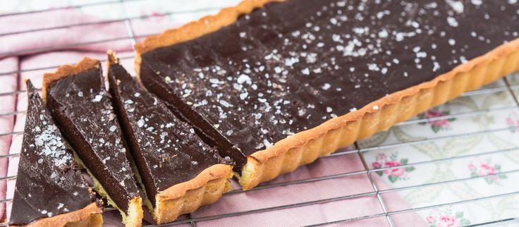 Thermomix Chocolate Tart