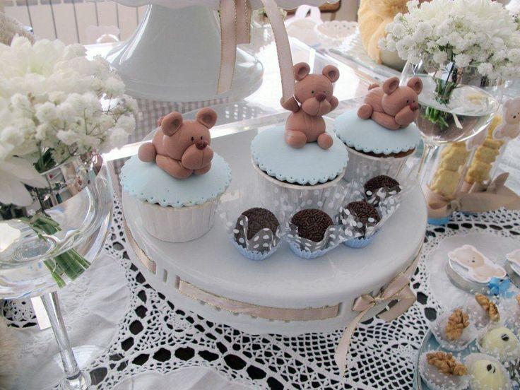 Teddy bear cupcakes  www.vintagecakecompany.pt