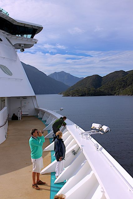 Sailing Through the Dusky Sound, Fiordland, South island, New Zealand