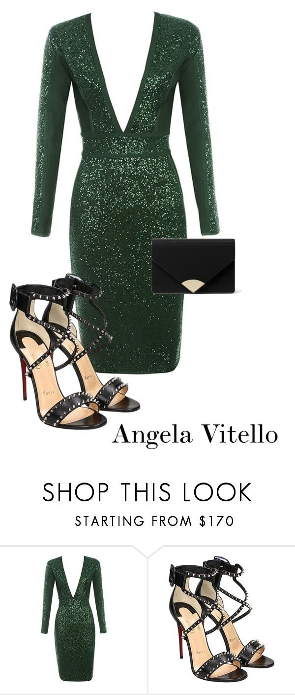 """Untitled #1109"" by angela-vitello on Polyvore featuring Christian Louboutin and MICHAEL Michael Kors"