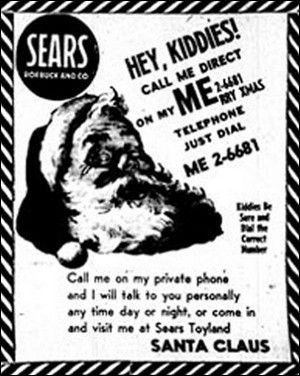 It all started in 1955 with a misprint in a Colorado newspaper and a call to Col. Harry Shoup's secret military hotline. Shoup played along with the tiny voice who called, and a tradition was born.