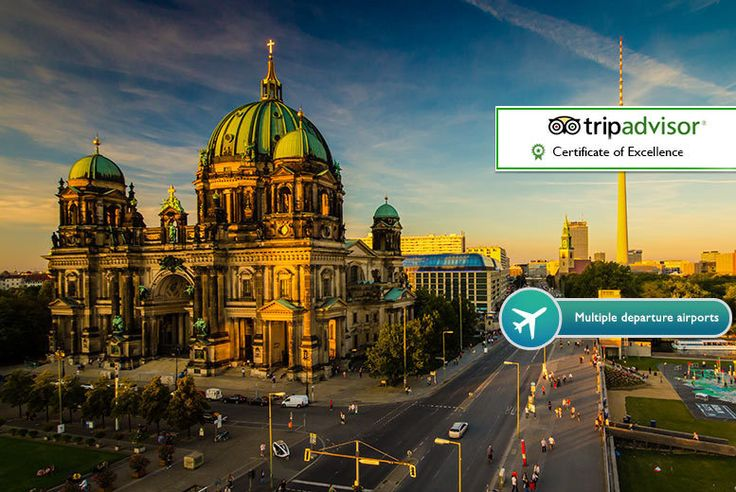 2-3nt 4* Berlin & Flights - Multiple Departure Airports! deal in Holidays Enjoy a two or three-night break in bustling Berlin.  With return flights from Stansted, Luton, Gatwick, Edinburgh or Manchester.  At the Ivbergs Hotel Premium or Novum Hotel Kronprinz, both TripAdvisor Certificate of Excellence winners!  Visit cultural spots like the Berlin Wall, Brandenburg Gate and Charlottenburg...