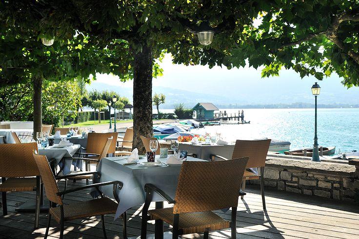 Les Terrasses du Cottage #chateauhotelscollection #gastronomic #restaurant #hotel #talloires #annecy #lake #lac #mountains #montagne #detente #loisirs #vacances #terrace