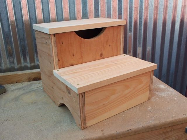 how to build a storage step stool your kids will love