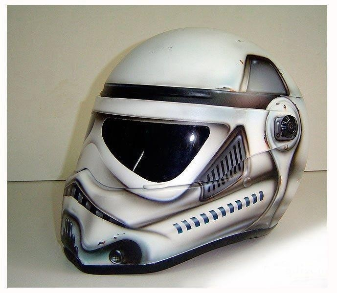 Cool motorcycle helmet | Got to love Star Wars | Pinterest ...