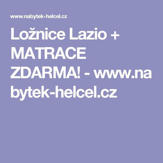 Ložnice Lazio + MATRACE ZDARMA!-www.nabytek-helcel.cz