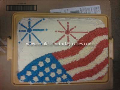 4th of july sheet cake recipe