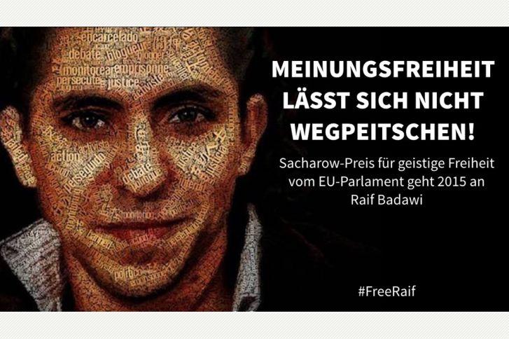 Raif Badawi in Gefahr | hpd #Schweiz #SaudiArabien #Menschenrechte #Freidenker #FreeRaif #Meinungsfreiheit