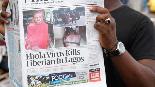 AP & HOUSTON TV STATION REPORTING ON EBOLA'S PATIENT ZERO-STORY SOON TO BE SCRUBBED - ..It is fairly certain that the following story will soon be scrubbed, so as not to cause a panic.  However, covering this up may prove to be difficult because this story was obtained by the TV station from the AP. I am posting a screen shot here, for posterity's sake of this breaking news story which is running right now on Houston's ABC News 13 website. [...] 07/31