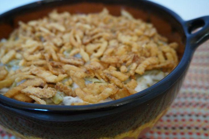 Disfruta los sabores de la Nueva Mesa de @quericavida , con un menú especial para la cena del Día de Acción de Gracias. En el cual yo preparé la #Receta de Green Bean Casserole (Cazuela de Ejotes) #NuevaMesaQueRicaVida #ElSabordeMamá  #ad