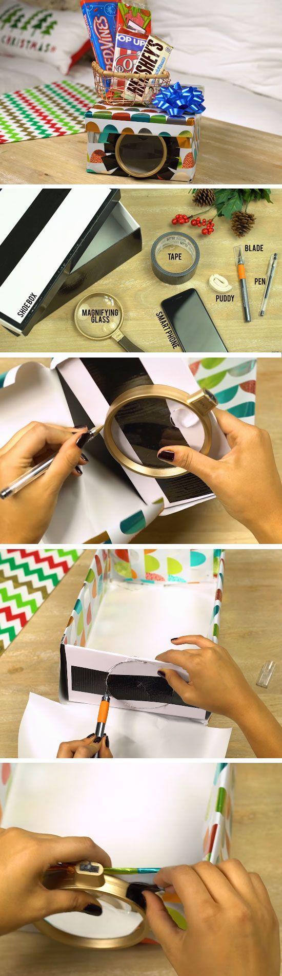 Smartphone Projector | Christmas Gifts for Boyfriend DIY Cute #SmartphoneProjector