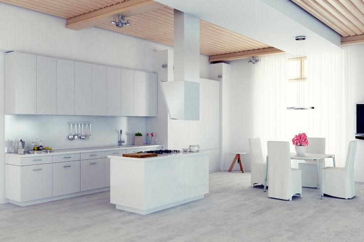 Metro Smooth White Kitchen (SMW) - Cabinetsmith Canadian Made Kitchens and Bath manufactured in Barrie Ontario Canada