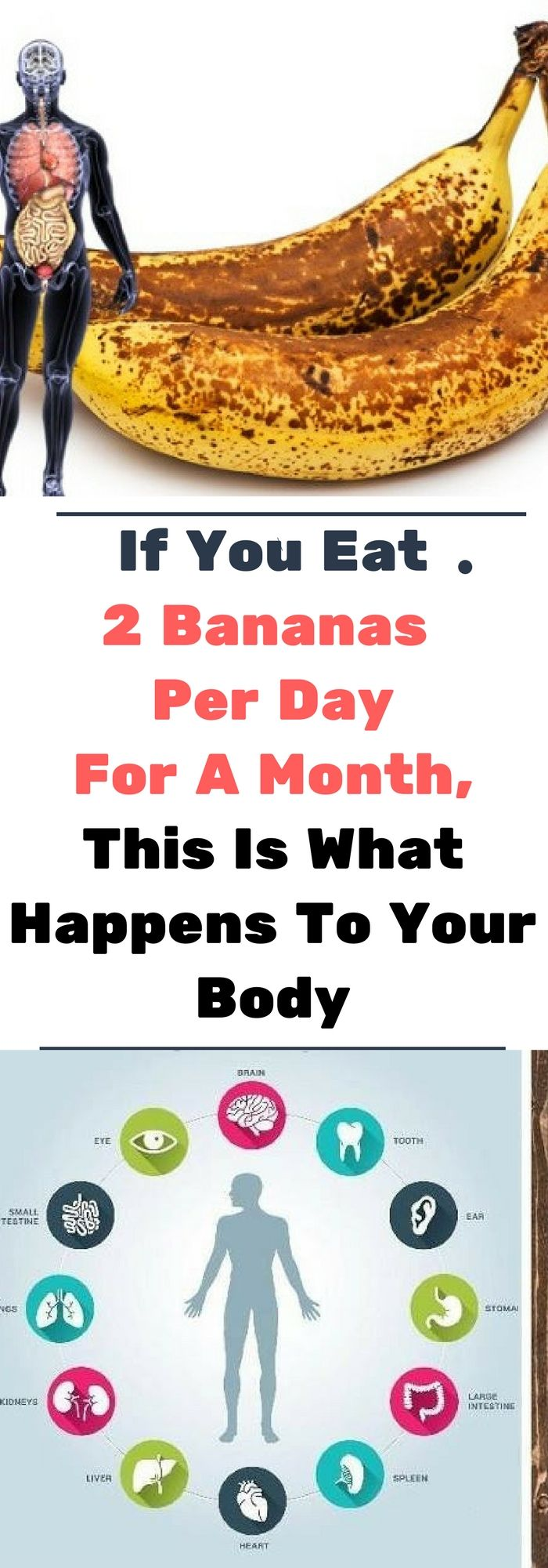 If You Eat 2 Bananas Per Day For A Month, This Is What Happens To Your Body..!! !!!