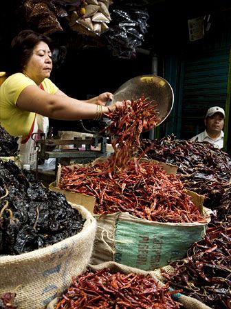 Mercado de Oaxaca http://www.georginayoungellis.com/