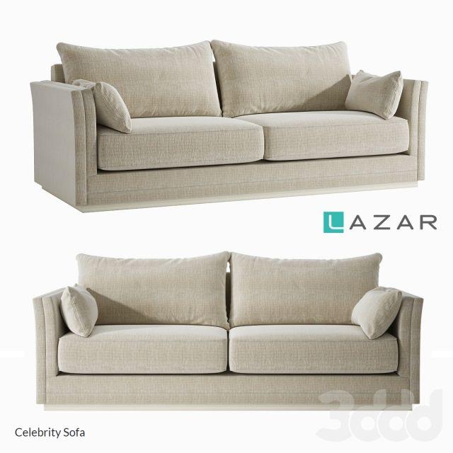 LAZAR Celebrity Sofa