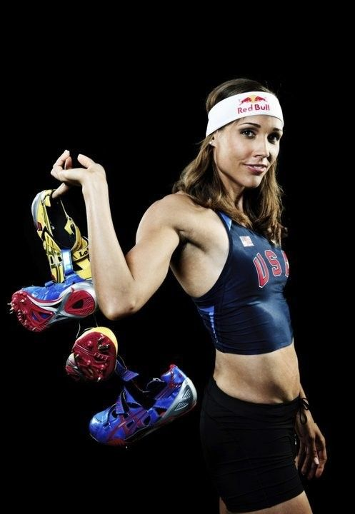 Lolo Jones. Hurdler, LSU Tiger, Olympian. What better role model is there?!