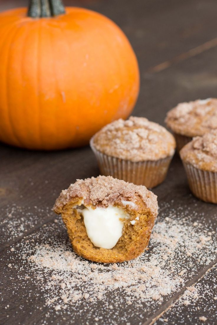 Pumpkin Cream Cheese Muffins | Recipe