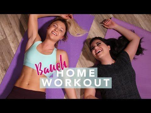 ♥HOME BIKINI BAUCH Workout♥ | FIT für den Sommer | Sophia Thiel - YouTube
