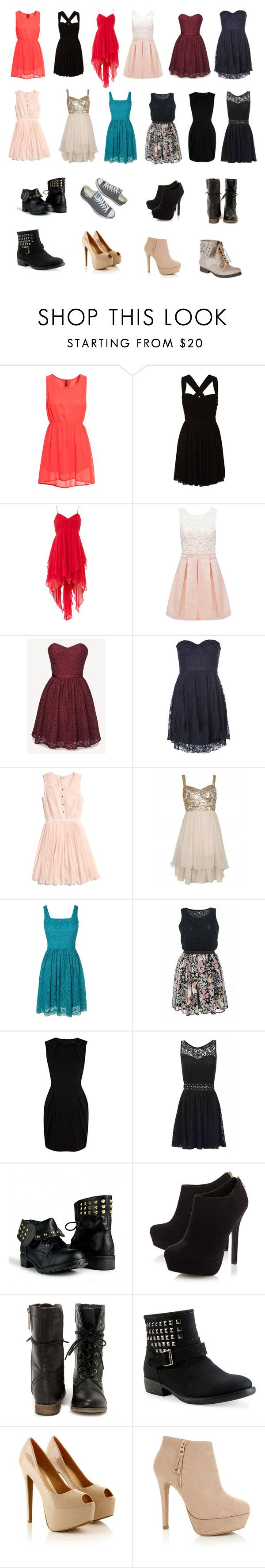 """""""Binge Shopping 2"""" by directioner1013 ❤ liked on Polyvore featuring H&M, Forever New, Jack Wills, Motel, Madewell, Poem, Quiz, Karen Millen, Head Over Heels by Dune and Aéropostale"""