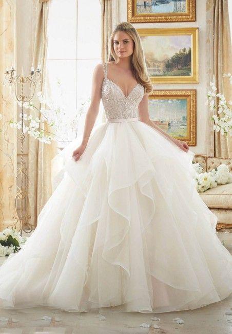 Wedding dress by Anna Campbell