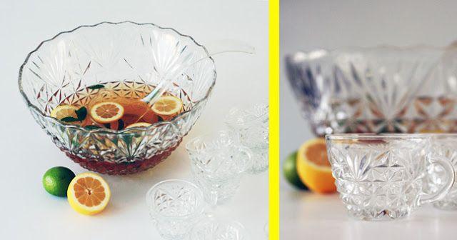 rum punch, recept, schaal, bowl, fruit, foto,